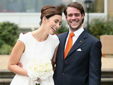 Принц Люксембурга женился на простолюдинке - ФОТО