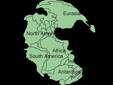 Ученые исследовали, как появились континенты