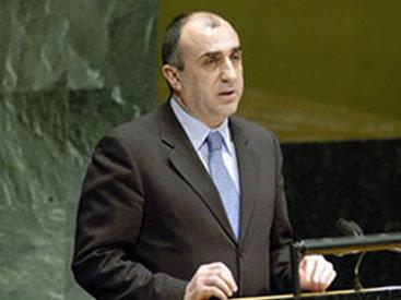 Эльмар Мамедъяров примет участие в сессии ГА ООН