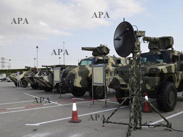 На выставке в Баку покажут военную технику минобороны - ФОТО