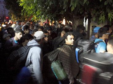 Власти Австрии перекрыли шоссе на границе с Венгрией из-за мигрантов
