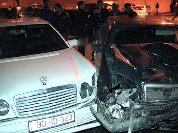Цепная авария в Баку: есть пострадавшие