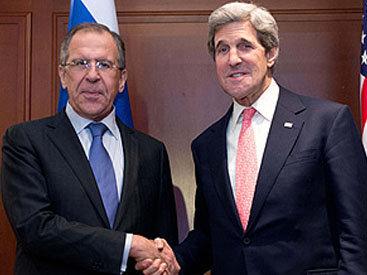 Лавров и Керри обсудили ситуацию в Нагорном Карабахе