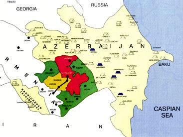 Сегодня исполняется 17 лет со дня оккупации вооруженными силами Армении Губадлинского района Азербайджана