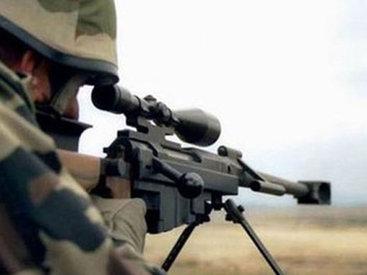 Армянские снайперы обстреляли азербайджанские позиции