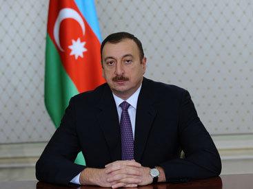 """Президент Ильхам Алиев: """"Отношения между Азербайджаном и Россией, Дагестаном и впредь будут развиваться в духе дружбы и братства"""""""