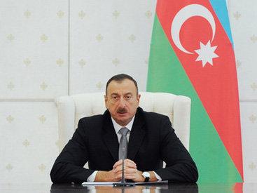Президент Ильхам Алиев избран «Человеком года в мире» в 2015 году