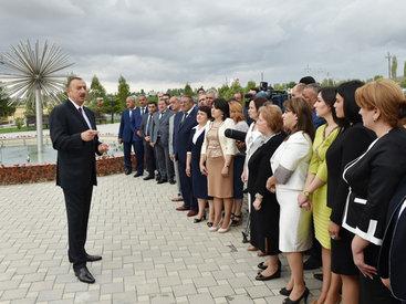 """Президент Ильхам Алиев: """"Фашизм возник не в мусульманском мире, нам хорошо известно, где он возник"""""""