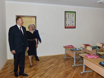 Президент Ильхам Алиев ознакомился с условиями в Бакинском профлицее №5 и школе-лицее №264 после ремонта и реконструкции - ОБНОВЛЕНО - ФОТО