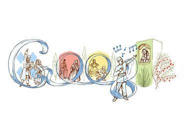"""""""Google"""" посвятил """"doodle"""" Узеиру Гаджибейли"""