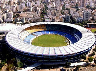 В Бразилии взорван стадион - ВИДЕО