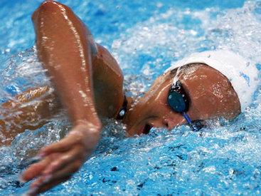 Пловец сборной Азербайджана улучшил рекорд страны в Латвии
