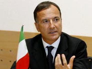 Перенесен официальный визит главы МИД Италии в Азербайджан