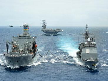 Корабли ВМФ России проведут боевые стрельбы на Каспии