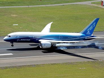 В США успешно прошел полет нового самолета Dreamliner