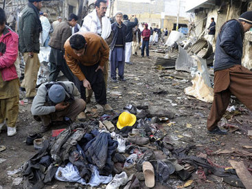 Смертник взорвал 9 человек в Пакистане, десятки раненых