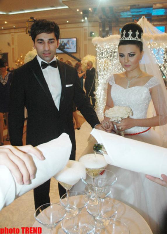 Свадьба кавказского певца