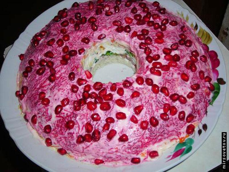 Вкусный салат на день рождения рецепт с с шампиньонами