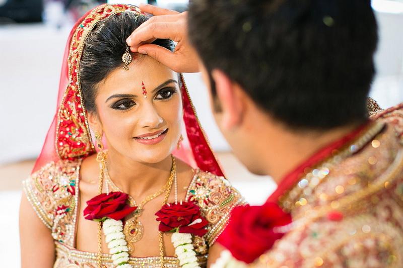 Метка замужней индианки