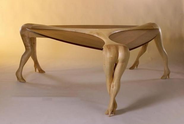Фигурные ножки для стола своими руками