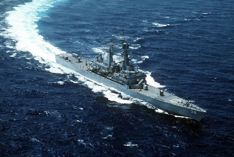 В Батуми прибыл американский крейсер