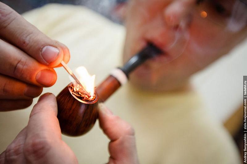 Как сделать трубку для курения сама