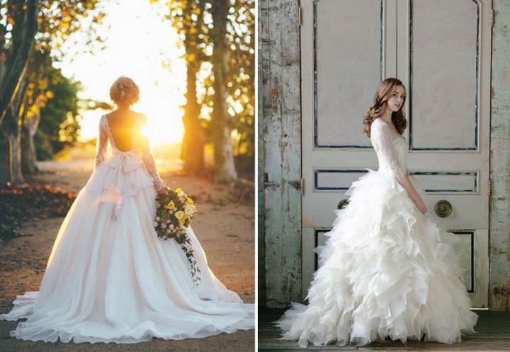 Свадебные платья 2015 самые красивые