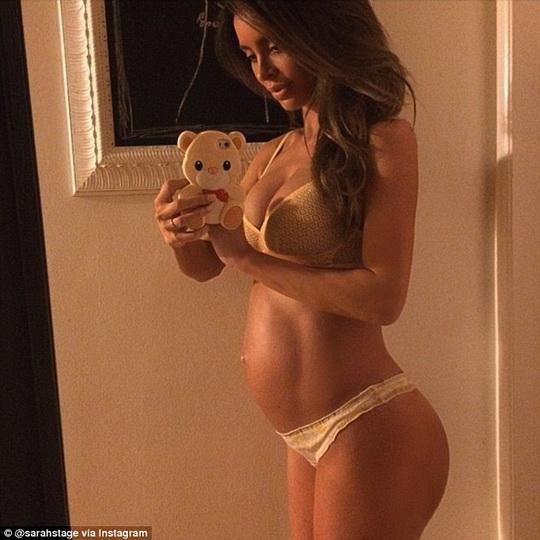 Беременность и накаченный пресс