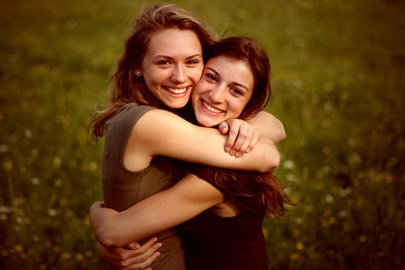 Идеи фото для двух девушек
