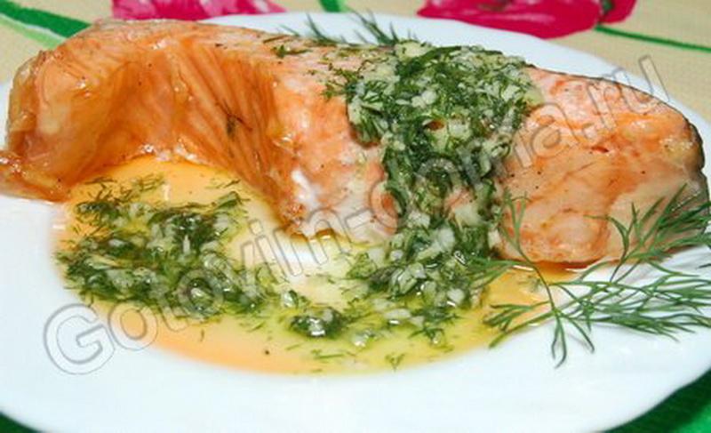 Рецепты блюд из семги форели