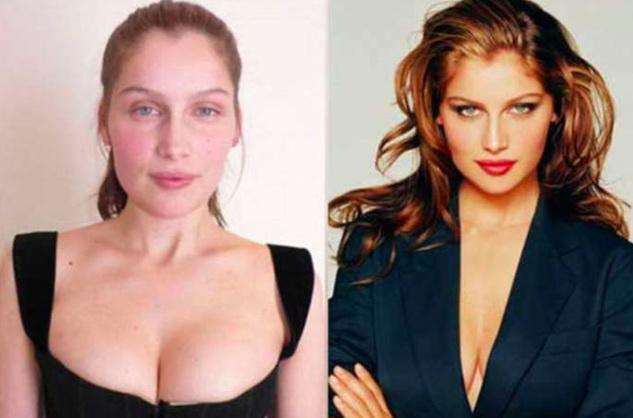 Victoria secret models without makeup