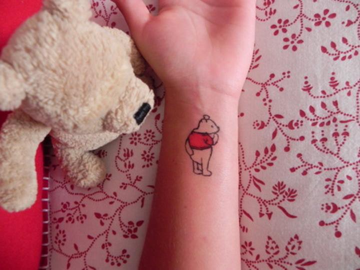 Татуировки для девочек в домашних условиях 50
