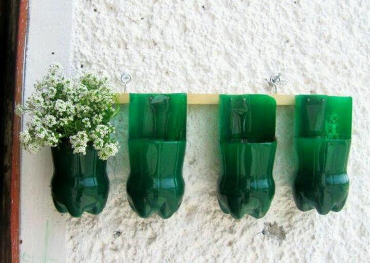Как из пластиковой бутылки своими руками сделать цветы фото
