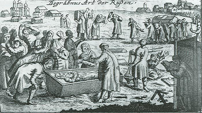 Исторические факты про траурный этикет разных народов мира