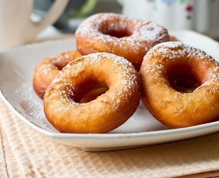 Аппетитные пончики - Пошаговый рецепт - ФОТО