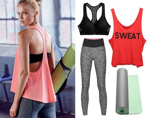 Что одевать на тренировки девушками