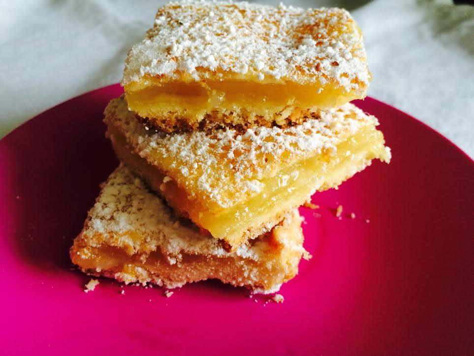 Lemon bars или лимонные квадратики - Пошаговый рецепт - ФОТО