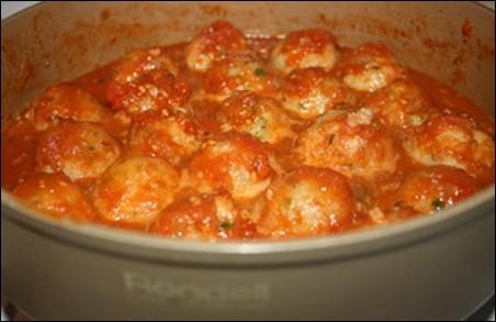 Тефтели с рисом в томатном соусе пошаговый рецепт в кастрюле с рисом