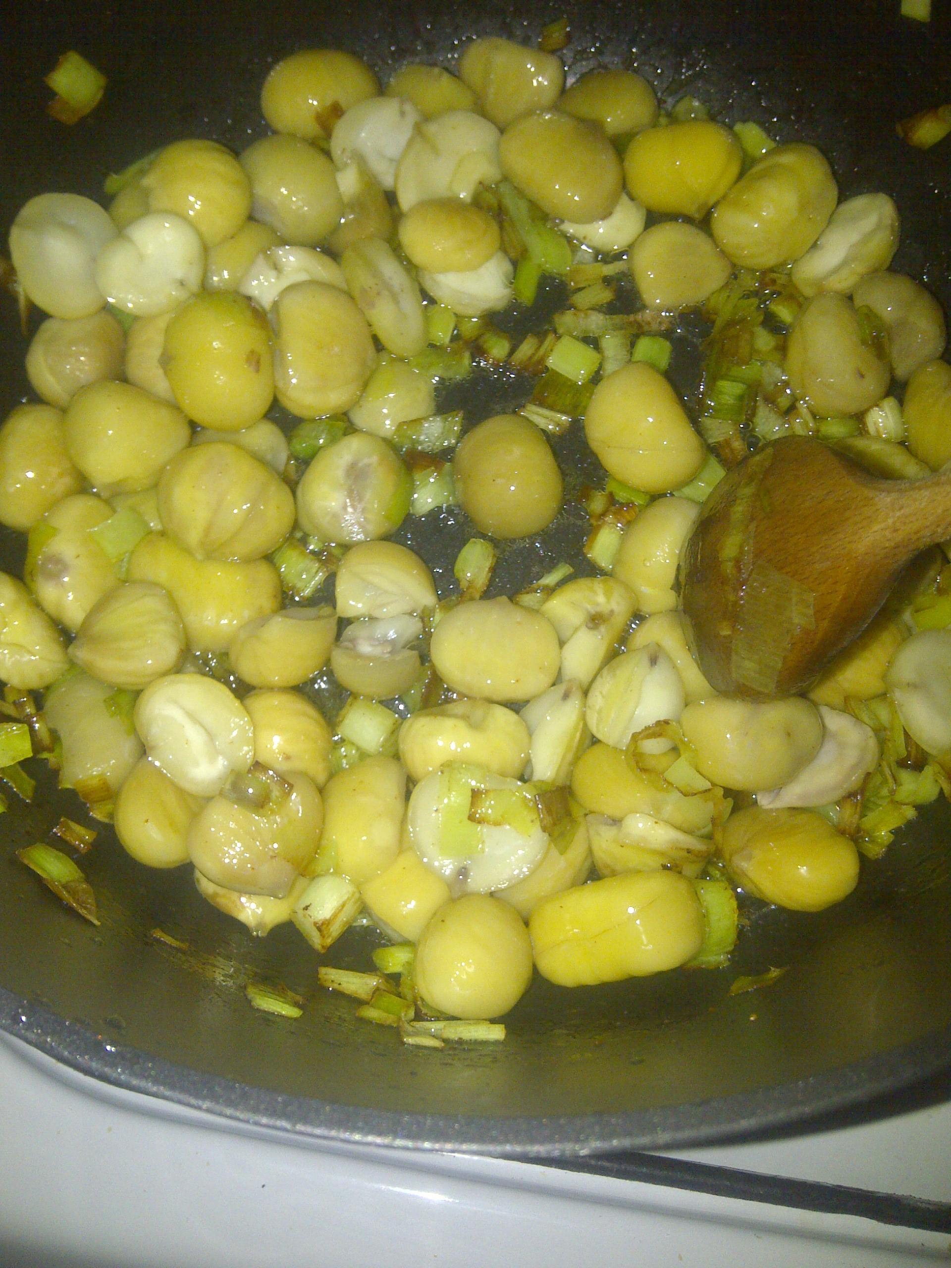 Суп из каштанов рецепт