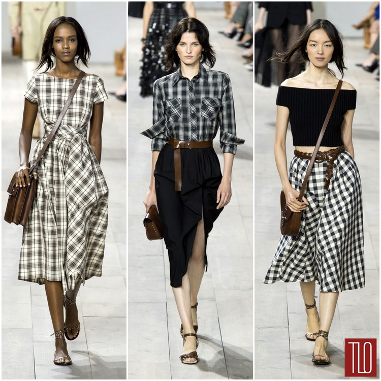 Girls Gingham Pleated Dress  MampS