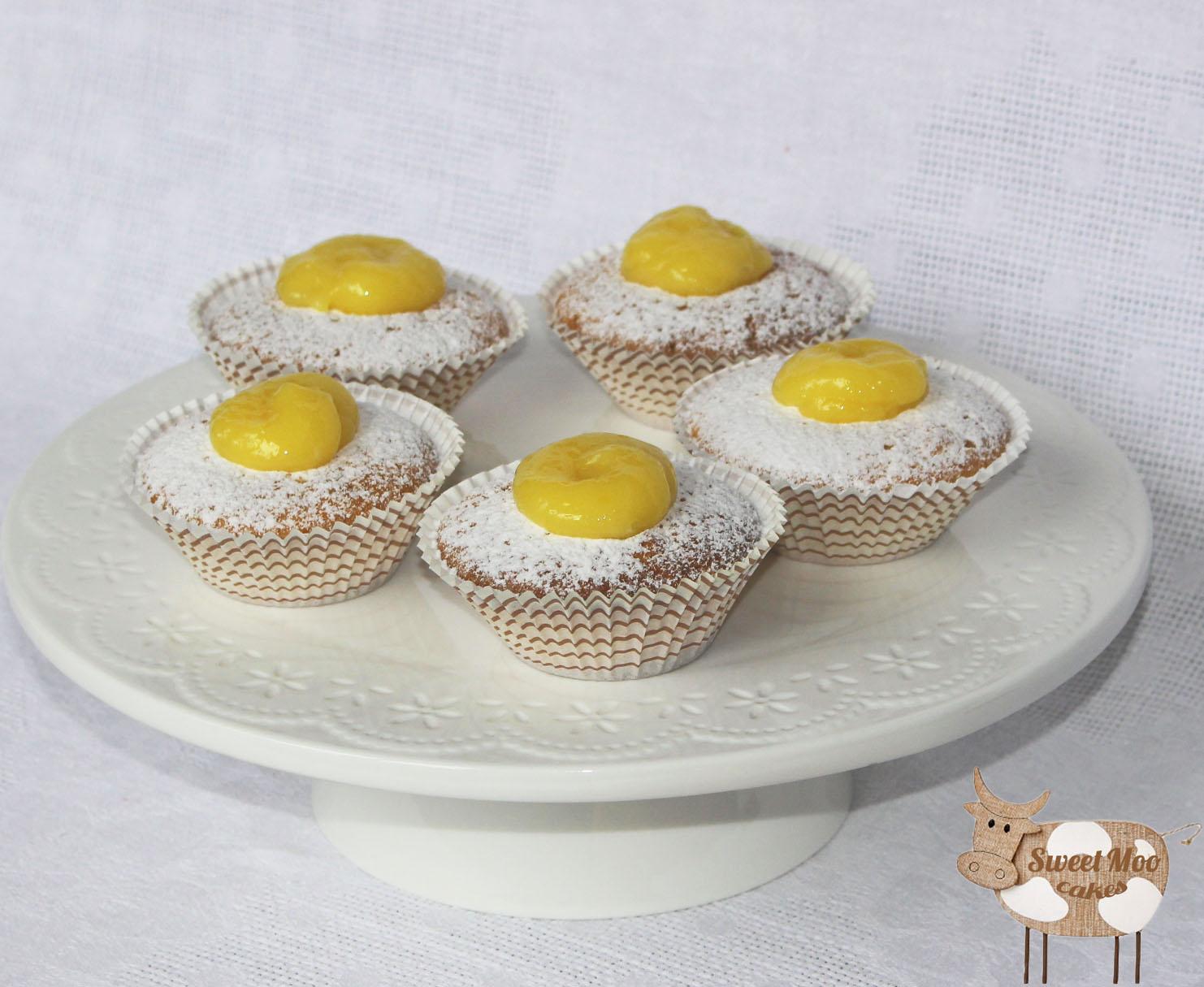 Капкейки лимонные рецепт с фото пошагово