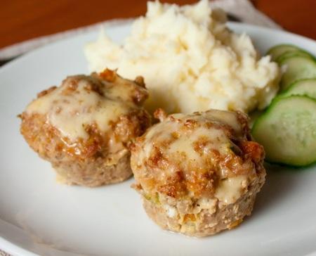 Мясные маффины с овощами - Пошаговый рецепт - ФОТО