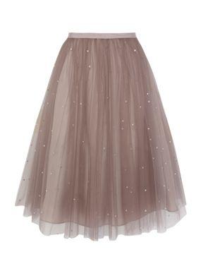 Ткань тюль на юбку