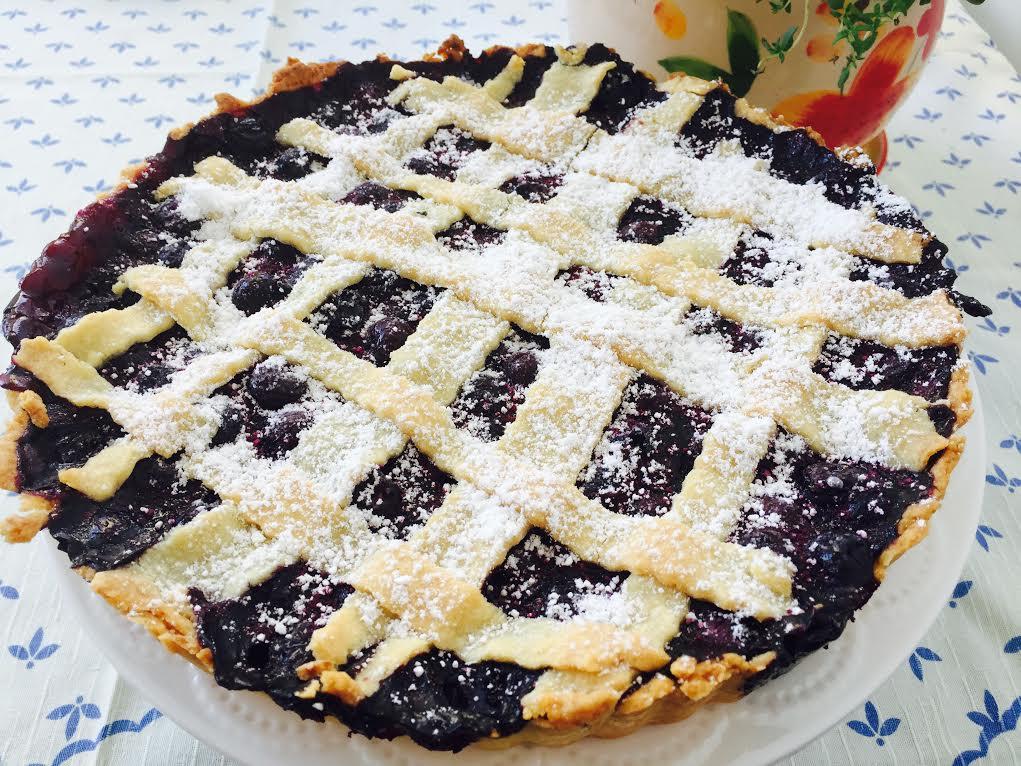 Черничный тарт - Пошаговый рецепт - ФОТО