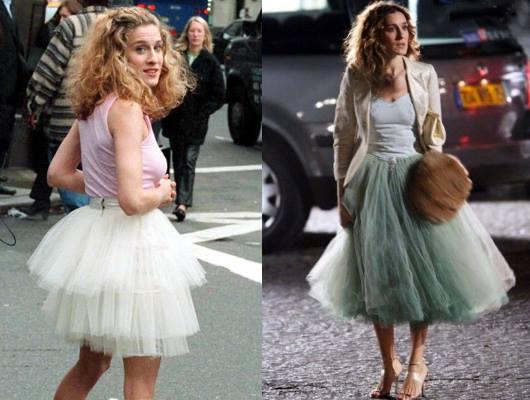 С чем носить тюлевую юбку фото