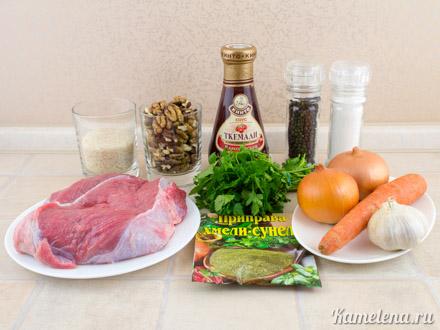 суп харчо рецепт пошагово с фото
