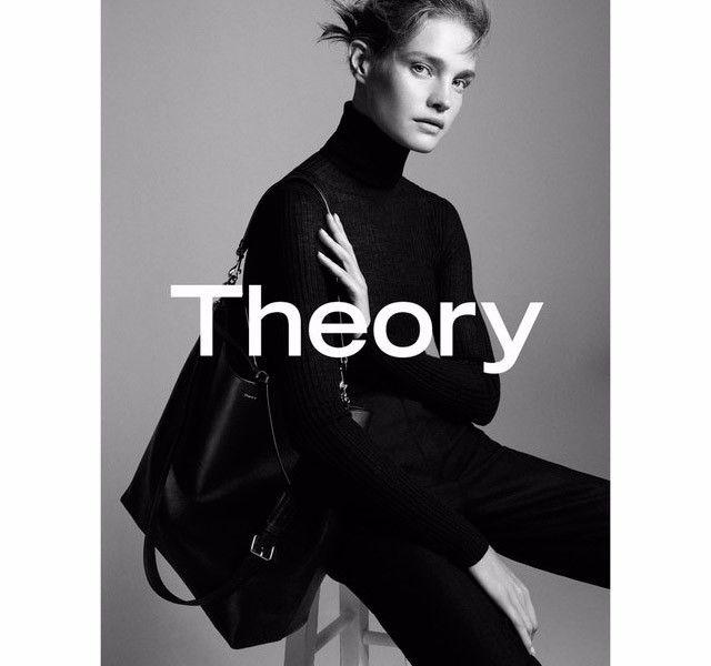 Наталья Водянова снялась в новой рекламной кампании Theory