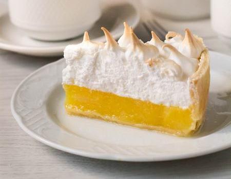 Лимонный пирог меренга рецепт
