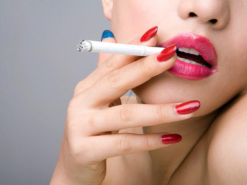 Косметика для курящих, Косметика для курящих. Курение - зло для легких. Э