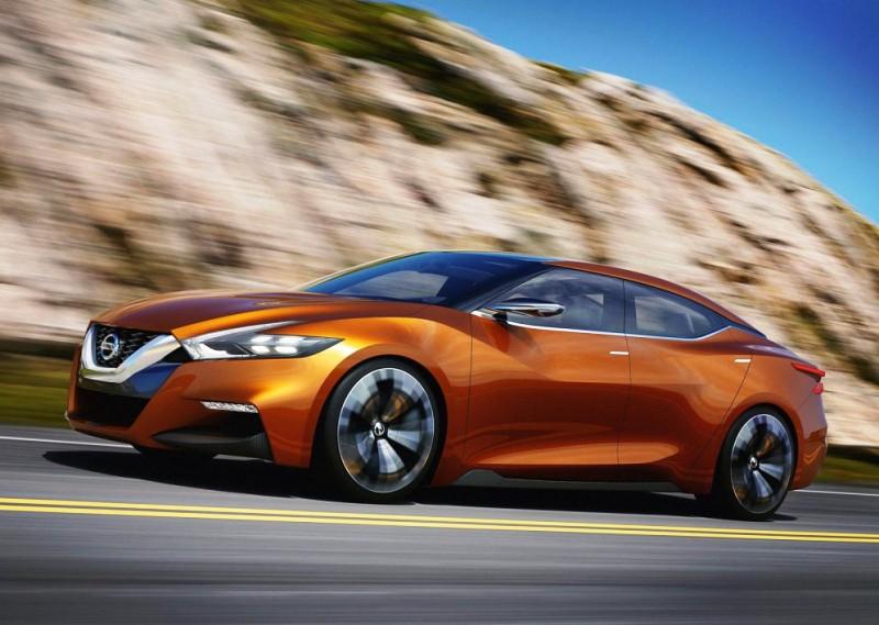 Фотошпионы сделали первые снимки нового седана Nissan Maxima
